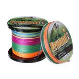 100 / 300M 8 strengen gevlochten vislijn PE vlechtlijn Multicolor Super Power