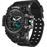 SYNOKE 9401 Sport Men 5ATM wasserdichte Dual-Display-Uhr