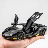 1:32 liga centenario lp770 multicolor super carro de corrida com luz de som diecast modelo de brinquedo para presente das crianças