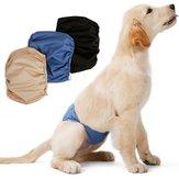 ماء مكافحة التحرش الكلب حفاضات الفسيولوجية سروال قابل للغسل أنثى سروال الحيوانات الأليفة الصحية