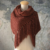 Women Scarf Chenille Soft And Comfortable Scarf Shawl