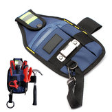 Electrician Tool Bag Solid Professional with Tape Buckle 3 Pockets 26 x 15cm