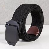 Automatic Buckle Belt Men's Alloy Buckle Belt