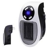 Presa a muro plug-in per mini riscaldatore d'aria in ceramica portatile 600W per riscaldatore di spazi per uffici
