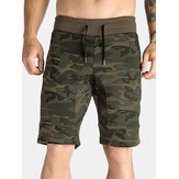 Breathable Camo Printed Running Shorts