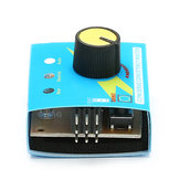 Servo Tester Third Gear Switch With Indicator Light 4.2V To 6.0v 2pcs