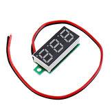 10pcs 0.28 Inch Two-wire 2.5-30V Digital Blue Display DC Voltmeter Adjustable Voltage Meter