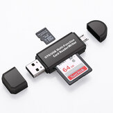 Lettore multi-card USB 2.0 TF Card OTG Reader Micro interfaccia USB per Smartphone