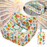 Geometric Baby Travel Portable Shopping Cart Seat Chair Covers Protector Mat