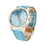OTOKY JY9007 Fashion Women Watch Light Luxury Casual Leather Strap Quartz Watch