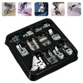 11 Pcs Domestic Sewing Machine Presser Foot Feet Set Crafts Accessories Part Kit Tools