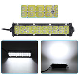 7 Inch 10V-30V 60W Double Row LED Work Light Bars Spot Beam Waterproof For Off Road Truck Boat