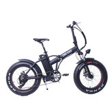 CMSBIKE CMSTD-20PZ 20Inch 48V 500W 10.4Ah Folding Electric Bicycle 30km/h Top Speed 60km Mileage Range LCD Screen Electric Bike