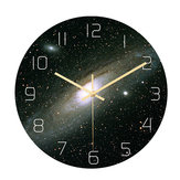 Loskii CC019 Creative Starry Pattern Wall Clock Mute Wall Clock Quartz Wall Clock For Home Office Decorations