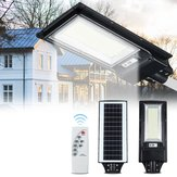 492 / 966LED Solar Street Light Motion Sensor al aire libre Impermeable Pared Lámpara con Control remoto
