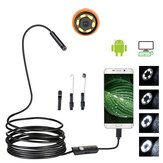 7mm USB Borescope Snake Inspection الة تصوير أندرويد Mobile هاتف Soft Wire