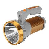 200W 3000LM LED Searchlight Spotlight USB Rechargeable Waterproof Super Bright Flashlight