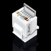 CAT5E Ağ UTP RJ45 Modül Ağ Konektör Kablo Adaptör Ağ Kablosu Parçalar Ücretsiz RJ45 Modül