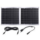 30W 12V DC Solar Panel Yüksek Verimli Batarya Şarj Cihazı Güç Bankası