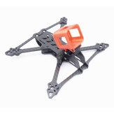 Suave 5 225mm Distância entre eixos 5mm Braço 3 K Fibra De Carbono 5 Polegada Quadro Kit para RC Drone FPV Corrida