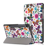Printing Tri-Fold Tablet Case for Samsung Tab S6 10.5 - Butterfly