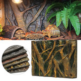 3D Foam Rock Reptile Aquarium Fish Tank Background Backdrop Board Decorations