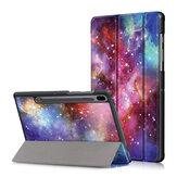 Печатный планшет Tri-Fold Чехол для Samsung Tab S6 - Млечный Путь