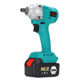 298VF 630NM Brushless Cordless Electric Impact Wrench Power 22800mAh Large Capacity Battery Built-in LED Light