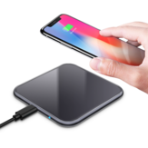 Bakeey 2 Colors 5W Output 5.8mm Thin Mini Wireless Charger for iPhone 11 Pro XR X for Samsung Xiaomi Huawei