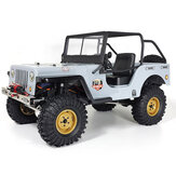RGT EX86010 CJ 1/10 2.4G 4WD Crawler Climbing Truck ضد للماء RC Car Vehicle Models