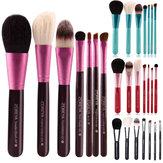 7pcs Maquiagem Escovas conjunto cosmético rosto mistura sombra para os olhos fo
