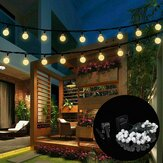 9.5M 50 LED Solar Fairy Bulb Light String 8 trybów Outdoor Indoor Garden Wedding Holiday Holiday Decor