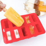10 Freezer Ice P-op Lolly Maker Tray Cream Popsicle Yogurt Mold Maker Mould