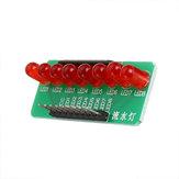 8ウェイウォーターライトマーキー5MM RED LED発光ダイオードシングルチップモジュールDiy電子MCU拡張モジュール