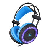 Cuffie da gioco con audio surround Virtual 7.1 Surround LED Cuffie con retroilluminazione con Microfono per XBOX PS4
