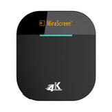 Mirascreen G5 Plus 2.4G 5G Wireless 4K HD H.265 Display Dongle TV Stick for Air Play DLNA Miracast