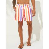 Sunshine Striped Fishing Board Shorts