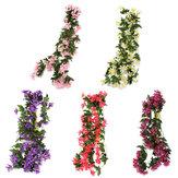 1 mazzo di gigli artificiali fiori di seta vite ghirlanda decorazioni per la casa appesi a nozze