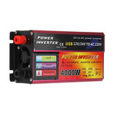 4000W Power Inverter 110V / 220V Car Solar Inverter Converter for Solar System Truck Modified Sine Wave