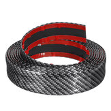 3M Fibra de carbono Universal Edge da porta do carro ody Sill Protector Rubber Edge Guard Strip