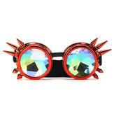 النظارات الشمسية الرجعية مشكال لحام جولة أزياء فريدة من نوعها نظارات الشرير ارتداء العين