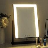 Led Vanity Dokunmatik Ekran Makyaj Ayna Vanity Büyüteç Aydınlatabilir