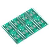 10PCS SOP16 SSOP16 TSSOP16 To DIP DIP16 0.65/1.27mm IC Adapter PCB Board