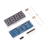 3 stks 0,56 inch digitale buis DIY Kit TM1650 viercijferige LED digitale buis Display Module voor
