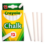 Crayola 12 Pcs Non-dust Non-toxic Chalks Assorted Colors Blackboard Writing Drawing Pen School Office Teaching Tools
