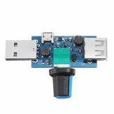 USB البسيطة قابل للتعديل سرعة مروحة وحدة سرعة الرياح حاكم تبريد الكمبيوتر البكم