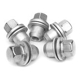 5Pcs Stainless Steel Wheel Nut Cap For Land Rover Discovery 3 4 Range Rover RRD500290