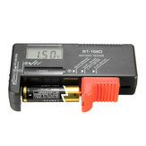 Tester Batteria digitale universale per AA AAA CD 9 V e pile a bottone LCD Display