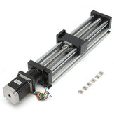 300mm Effective Travel Linear Slider With Nema23 Stepper Motor CNC Ball Screw Linear Slider