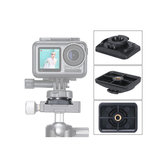 ULANZI U-13 Camera Accessories Vertical Base Holder 1/4 Install Mount Fixed Mount for DJI Osmo Action FPV Camera